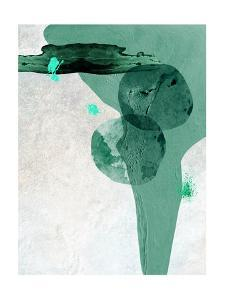 Scandi Minimalist Abstract TEAL by Urban Epiphany