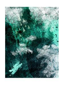 Teal Abstract B by Urban Epiphany