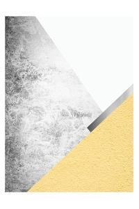 Yellow and Grey Mountains 1 by Urban Epiphany
