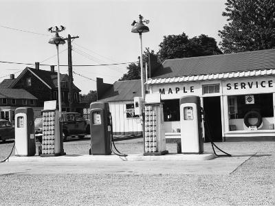 Urban Gas Station-George Marks-Photographic Print