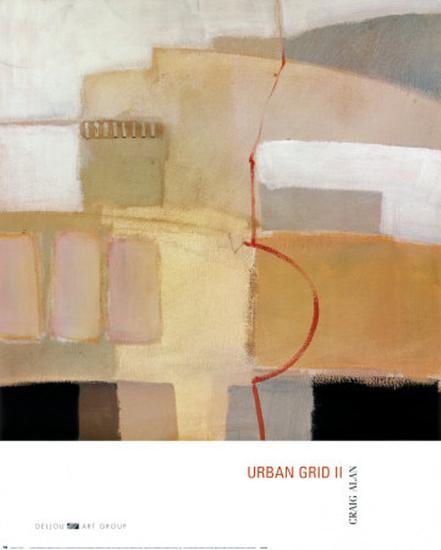 Urban Grid II-Craig Alan-Art Print
