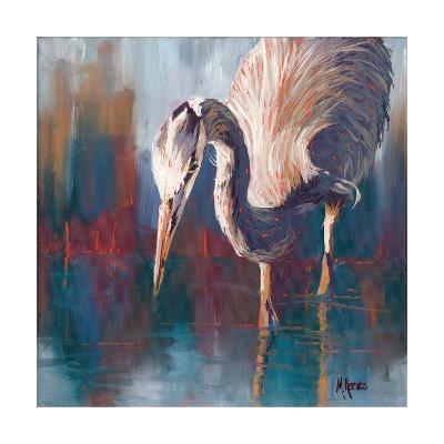 Urban Heron-Molly Reeves-Photographic Print