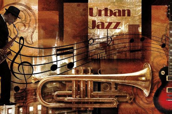 Urban Jazz-Paul Robert-Art Print