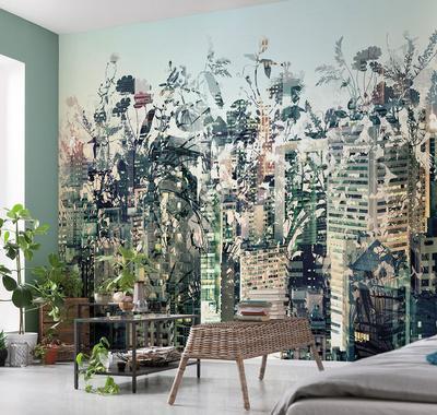 Urban Jungle Wall Mural Wallpaper Mural by Artcom