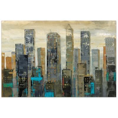 Urban Lights I - Free Floating Tempered Glass Wall Art
