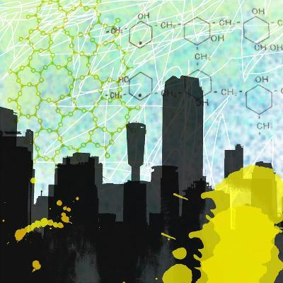 Urban Math-Jan Weiss-Art Print