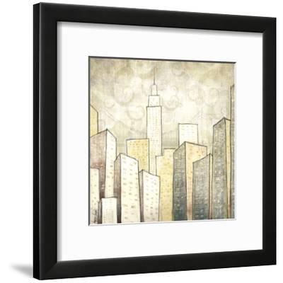 Urban Monograph II-Marcus Collins-Framed Giclee Print