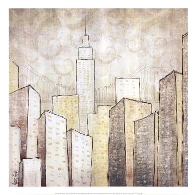 Urban Monograph II-Marcus Collins-Art Print