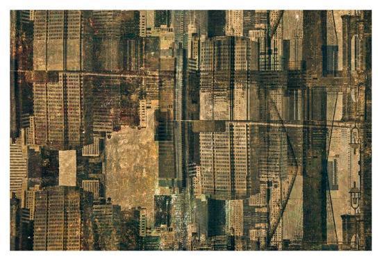 Urban Patchwork II-Jean-Fran?ois Dupuis-Art Print
