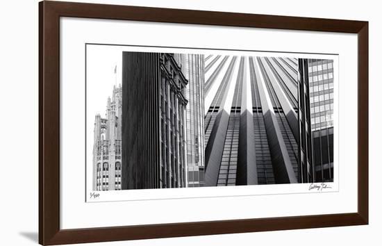 Urban Reflections I-Anthony Tahlier-Framed Giclee Print