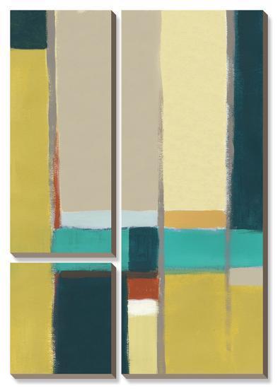 Urban Reflections II-Erica J^ Vess-Canvas Art Set