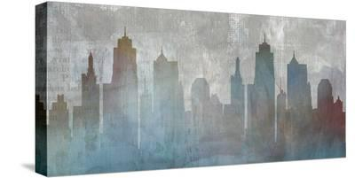 Urban Reflections-Louis Duncan-He-Stretched Canvas Print