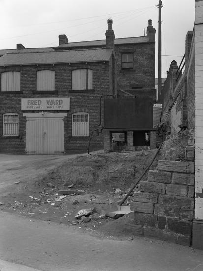 Urban Regeneration in Mexborough, South Yorkshire, 1966-Michael Walters-Photographic Print