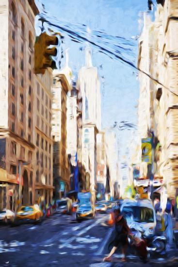 Urban Scene - In the Style of Oil Painting-Philippe Hugonnard-Giclee Print
