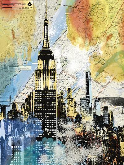 Urban Sights I-Alan Lambert-Art Print