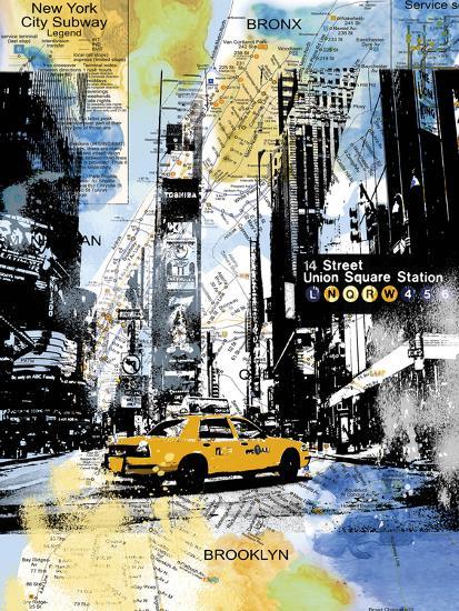 Urban Sights III-Alan Lambert-Giclee Print