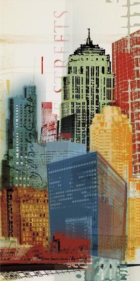 Urban Style II-Noah Li-Leger-Art Print