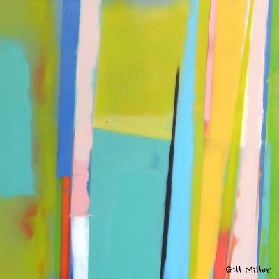 Urban Summer 5-Gil Miller-Art Print