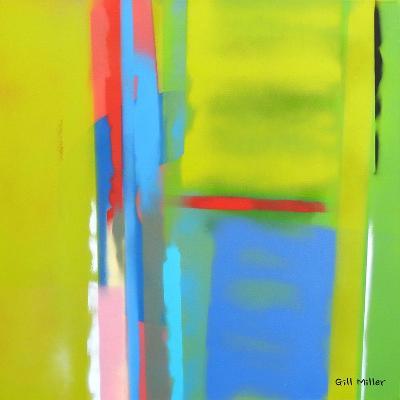 Urban Summer 6-Gil Miller-Art Print