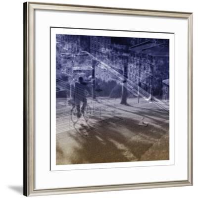 Urban Travelers-Jean-François Dupuis-Framed Art Print