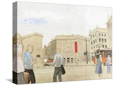 Urbana-Erik Scheller-Stretched Canvas Print