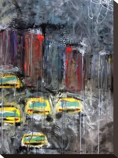 Urbanite 9-Annie Rodrigue-Stretched Canvas Print