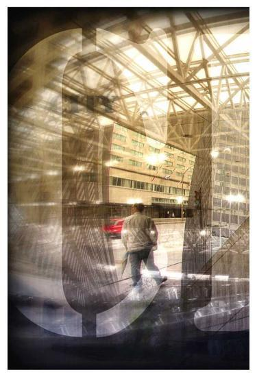 Urbanity I, Left Panel-Jean-Fran?ois Dupuis-Art Print