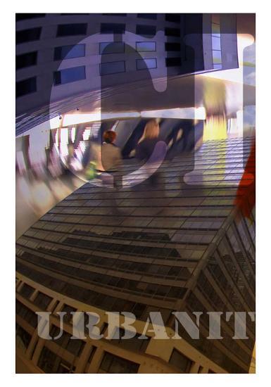 Urbanity IV, Center Panel-Jean-Fran?ois Dupuis-Art Print