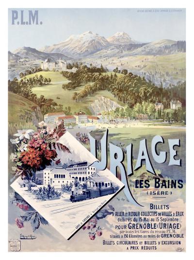 Uriage les Bains-Hugo D'Alesi-Giclee Print