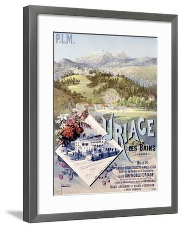 Uriage les Bains-Hugo D'Alesi-Framed Giclee Print