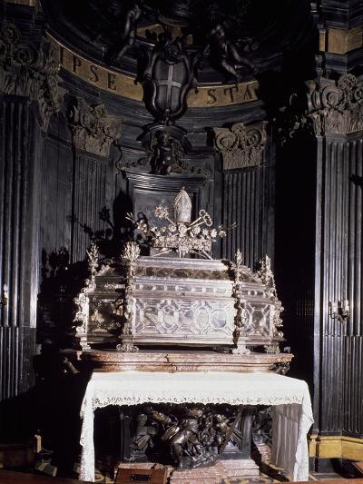Urn Containing Relics of St Gaudenzio--Giclee Print