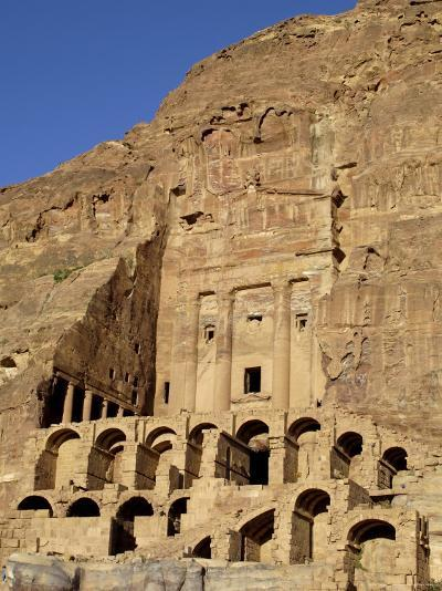 Urn Tomb, Petra, Unesco World Heritage Site, Jordan, Middle East-Sergio Pitamitz-Photographic Print