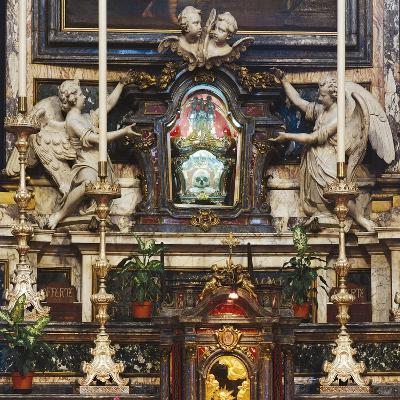 Urn with Skull of St Aloysius Gonzaga--Giclee Print