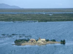 Uros Indian Floating Village, Lake Titicaca