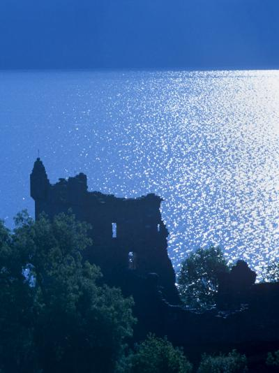 Urquhart Castle, Built in the 13th Century, Shores of Loch Ness, Highland Region, Scotland-Patrick Dieudonne-Photographic Print