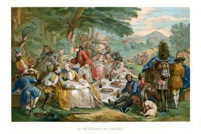 Hunt Breakfast, 1737