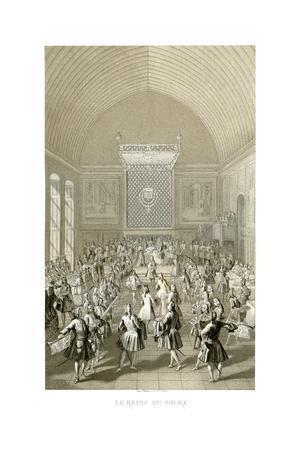 The Coronation Meal, 1715
