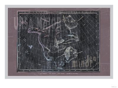 Ursa Major and Leo Minor--Art Print