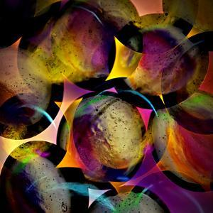 Abstract with Circles by Ursula Abresch