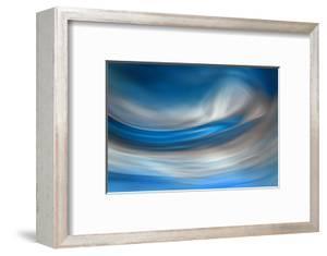 Blue Feather by Ursula Abresch