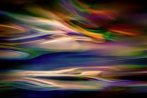 Blue Lagoon in the Evening by Ursula Abresch