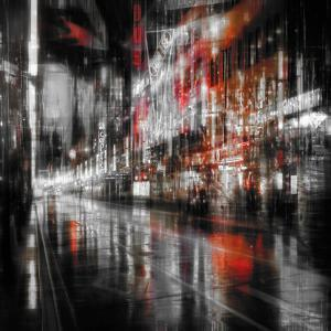 City At Night 5 by Ursula Abresch