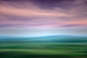 Hazy Palouse Evening by Ursula Abresch