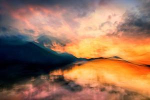 Imagine Sunset by Ursula Abresch