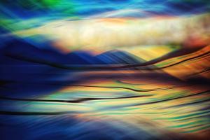 Liquid Sunset by Ursula Abresch