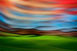 Palouse Abstract 3 by Ursula Abresch