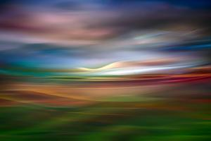 Palouse Evening Abstract by Ursula Abresch