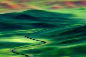 Palouse from Steptoe Butte by Ursula Abresch