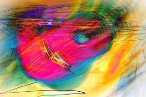 Pink Guitar by Ursula Abresch