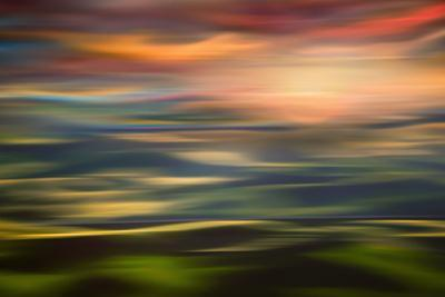 Rolling Hills at Sunset Copy by Ursula Abresch
